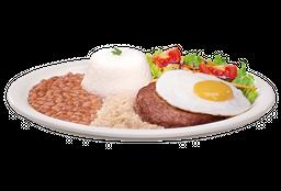 P2 - Hambúrguer Com Ovo