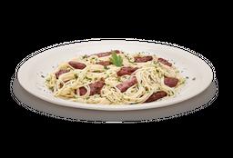 Spaghettini Iscas De Filé Mignon