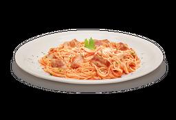 Spaghettini Iscas De Peito De Frango