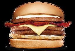 Triplo X-burguer Bacon Com Ovo - Combo + refri + Fritas