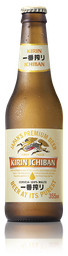 Kirin Ichiban Long Neck - 355 ml