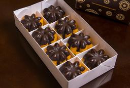 Mini Bolo Caseiro Cenoura com Casquinha de Chocolate