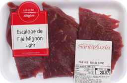 Filé Mignon Bovino Es P/Escalope Bandeja