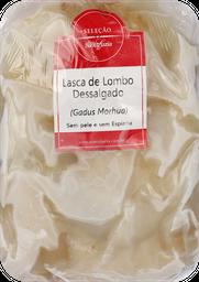 Lascas Lombo Bacalhau Dessal sem Pele e Osso