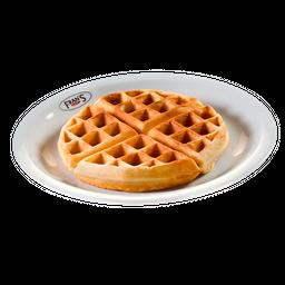 Waffle com Calda de Brigadeiro