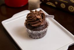 Cupcake Diet Chocolate com Creme de Chocolate - Sem Açúcar