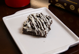 Brownie Negresco com Chocolate Branco