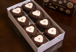 Mini Bolo Caseiro Chocolate com Casquinha de Chocolate Branco