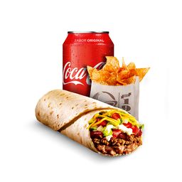 Burrito Supreme (Combo 1)