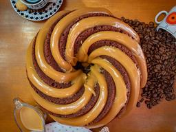 Bolo Espiral Chocolate e Doce de Leite