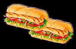 2x1 Frango empanado (15cm)