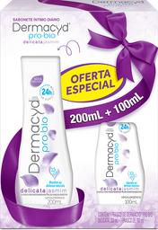Dermacyd Delicata 24h 200mL + 100mL Kit - Portinari