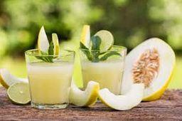 Suco de Melão e Limão