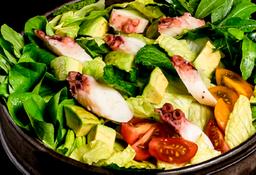 Salada de Polvo e Abacate