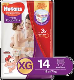 FRALDA ROUPINHA HUGGIES SUPREME CARE XG 14 UND