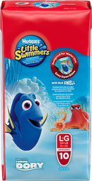 FRALDA HUGGIES LITTLE SWIMMERS G 10 UNI.