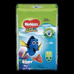 Fralda Huggies Little Swimmers P - 12 Fraldas