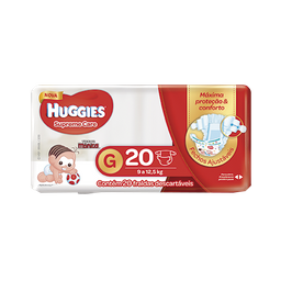 Fralda HUGGIES Supreme Care G - 20 fraldas