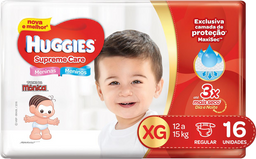Fralda Huggies Supreme Care Xg 16 Und