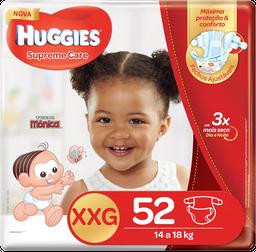 Fralda Huggies Supreme Care Xxg 52 Und