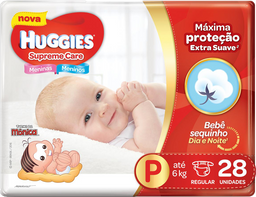Fralda Huggies Supreme Care P 28 Und