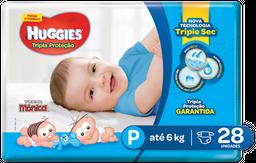 Fralda Huggies Tripla Proteção P 28 Und