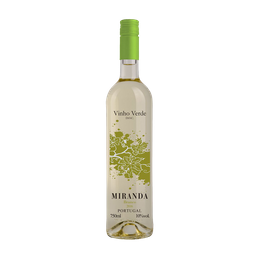 Vinho Miranda Verde 750 mL