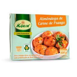 Almondega Frango Korin Bandeja