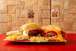 Burger Salada Simples
