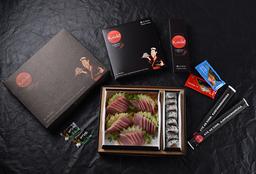 Sashimi Atum + Sushi Variados (38 peças)
