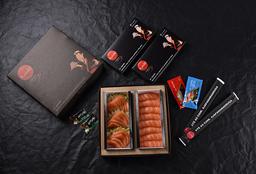 Sashimi de Salmão + Niguiri Variado (23 peças)