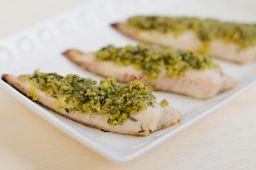Peixe com Ervas na Ghee de Limão Siciliano