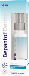 Spray Bepantol Derma Solução 50 mL