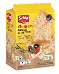 Biscoito Cracker Al Rosmarino Sem Glúten 210 g
