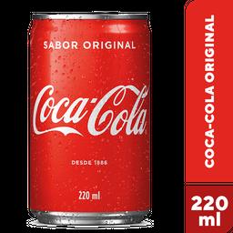 Refrigerante Coca-Cola Mini Lata 220 mL