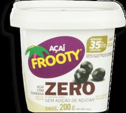 Açaí Frooty Polpa Zero Açúcar 200ml
