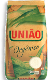 Açúcar Cristal Orgânico União Pacote 1Kg