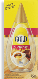 Adoçante Líquido Sucralose GOLD 75ml