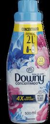 Amaciantes De Roupas Concentrado Azul Brisa De Verão Downy 500mL