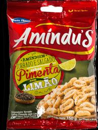 Amendoim Santa Helena Amindus Pimenta Limão 150g