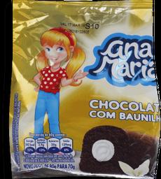 Bolinho Ana Maria de Chocolate e Baunilha 80 g