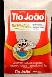 Arroz Agulhinha Tipo 1 Tio João Pacote 1Kg