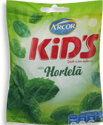 Bala Arcor Kids Hortelã 150 g