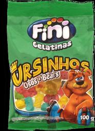 Bala de Gelatina Fini Ursinhos 100g