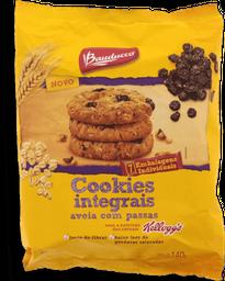 Biscoito Bauducco Cookies Integrais Aveia E Passas 140g