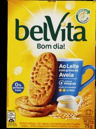 Biscoito Belvita Ao Leite com Grãos de Aveia Caixa 75g