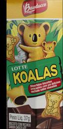 Biscoito Koalas De Chocolate Bauducco 37g