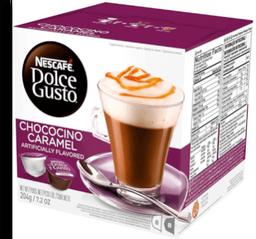 Cápsula Nescafé Dolce Gusto Choco Caramel 204g