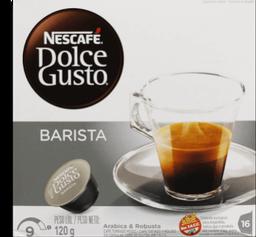 Cápsulas Nescafé Dolce Gusto Barista 120g