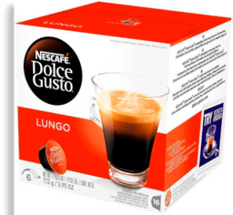Cápsulas Nescafé Dolce Gusto Caffe Lungo 112g